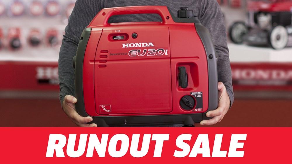 Honda EU20i Runout Sale