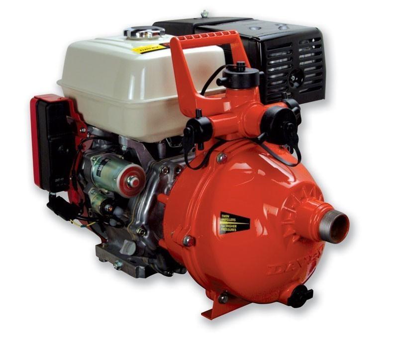 Davey 5290he Honda Gx270 9hp Twin Impeller Firefighting
