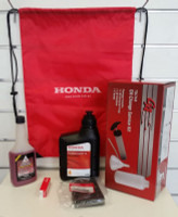 Honda EU20i service kit with oil extraction tool