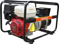 Gentech Petrol 8 kVA Honda Powered AVR Generator EP8000HCRA