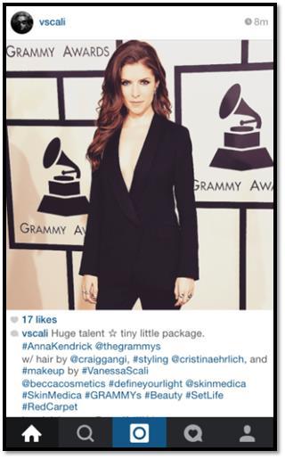 Anna Kendrick Grammys SkinMedica