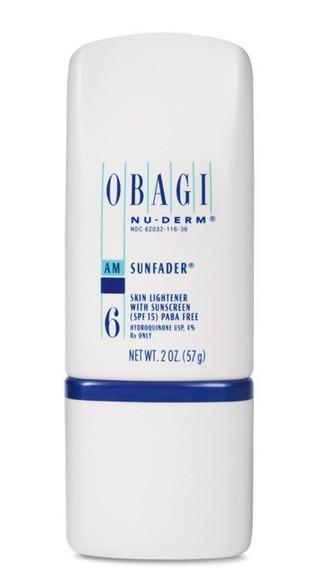 Obagi Nu-Derm Sunfader SPF 15 | Latisse.MD