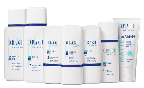 Obagi Nu-Derm Rx System—Normal to Oily