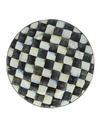 MacKenzie-Childs Courtly Check Charger Plate