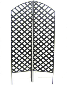 Interlocking 2-Piece Garden Screen