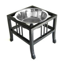 Baron Single-Bowl Raised Dog Feeder