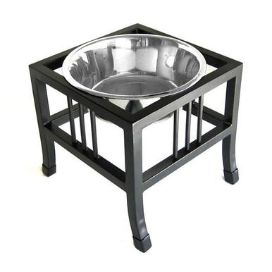 Baron Single-Bowl Raised Dog Feeder