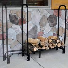 "Expandable 42"" to 60"" Tubular Firewood Rack"