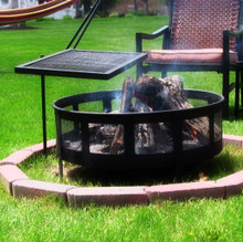 Heavy Duty Adjustable Campfire Cooking Grill