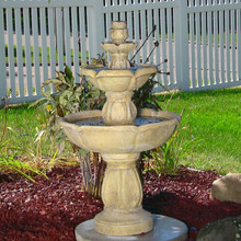Birds Delight Outdoor Water Fountain