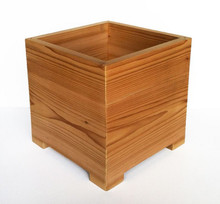 Modern American Cedar Outdoor Planter 18x18x18