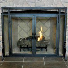 """39"""" 2-Door Fireplace Screen"""