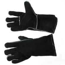 """12"""" Fireplace Gloves - Black"""