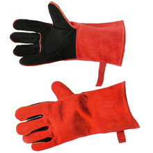 """13"""" Fireplace Gloves - Red"""