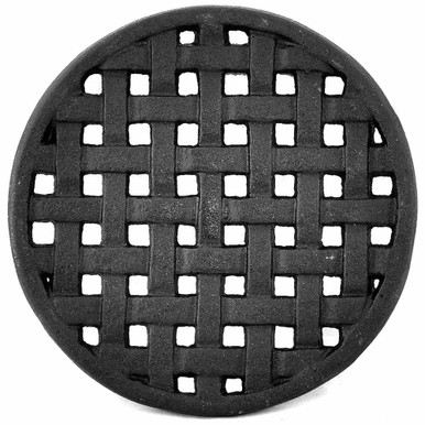 Round Lattice Weave Trivet