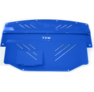 TBW Aluminum Engine Splash Shield for Nissan 350z and Infiniti G35 Limited Edition BLUE