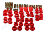 Rear Control Arm Bushing Kit (RED) for Infiniti G35 and Nissan 350Z