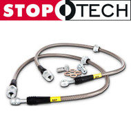 StopTech Stainless FRONT Brake Lines for Infiniti G35 & Nissan 350Z (950.42004)