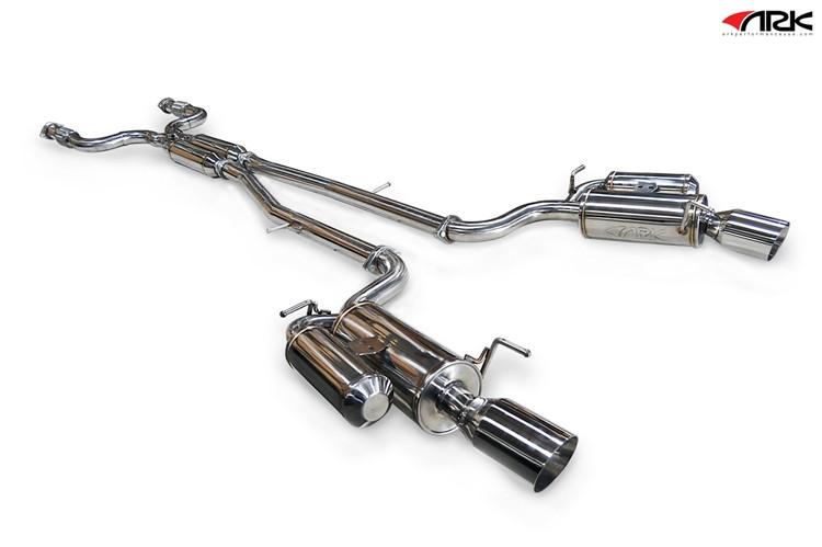 ARK Grip Catback Exhaust for 07+ Infiniti G35/G37 Sedan