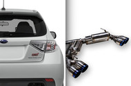 ARK Grip Catback Exhaust for 08-14 Subaru WRX & STI Hatch