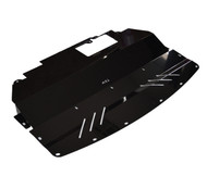 Aluminum Under Tray for RWD 2014+ Infiniti Q50 (V37) BLACK