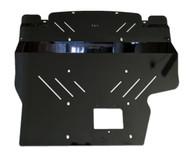 2015+ Subaru WRX Aluminum Engine Under Tray Skid Plate BLACK (15WRXEngineBK)
