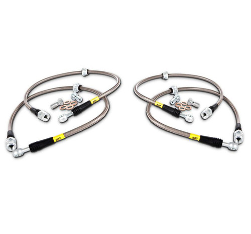 StopTech Stainless FRONT & REAR Brake Lines for G37, 370Z