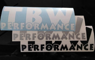 TBW Performance Decals (Large)