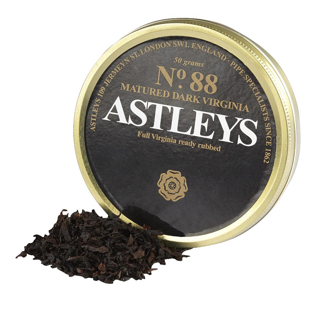 Astleys No. 88 Matured Dark Virginia Pipe Tobacco | 1.75 OZ TIN