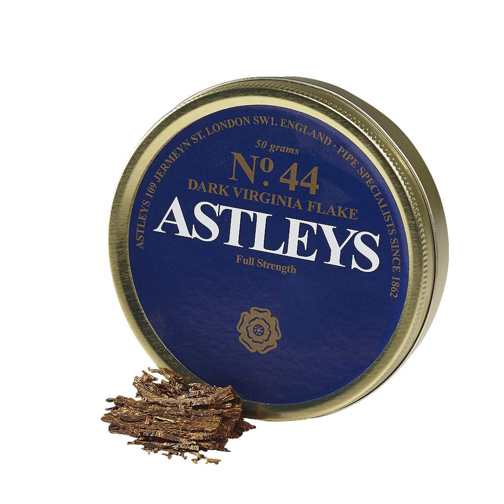 Astley's No. 44 Dark Virginia Flake Pipe Tobacco | 1.75 OZ TIN