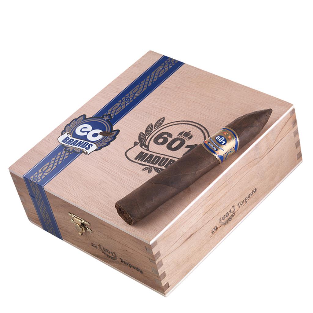 601 Blue Label Maduro Torpedo - 6.12 x 52 Cigars (Box of 20)