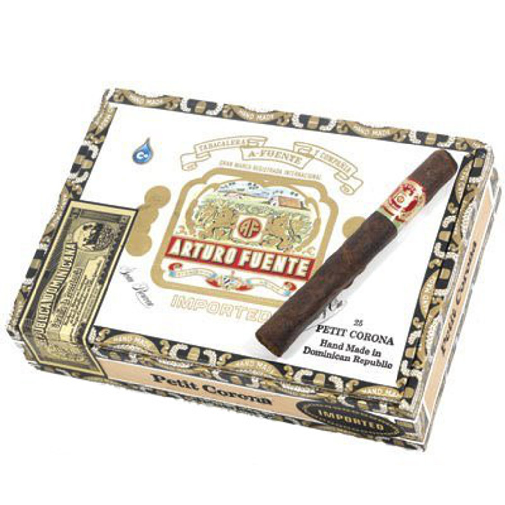 Arturo Fuente Petit Corona Maduro Cigars - 5 X 38