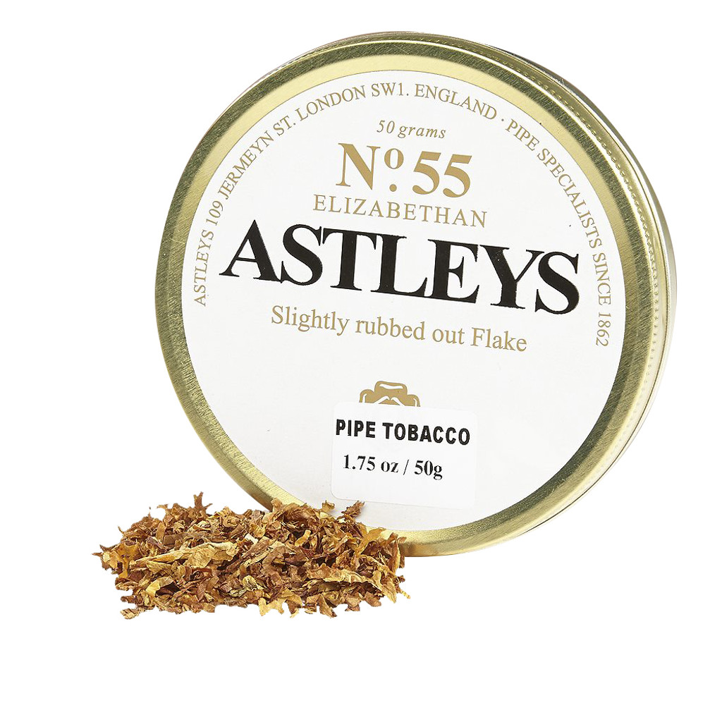 Astley's No. 55 Elizabethan Pipe Tobacco | 1.75 OZ TIN