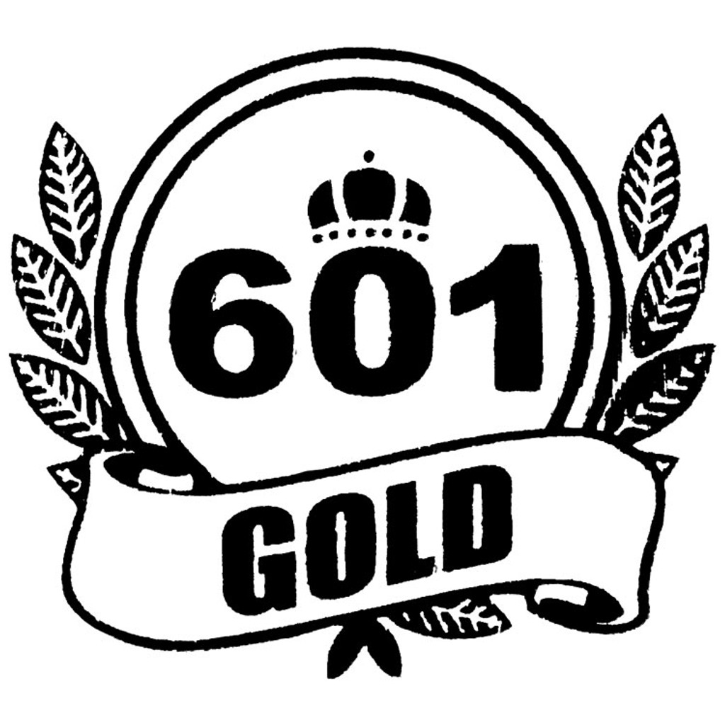 601 Gold Label Toro Cigars - 6 x 50 (Pack of 5)