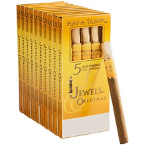 Hav-A-Tampa Jewels Regular Cigars (10 Packs Of 5) - Natural