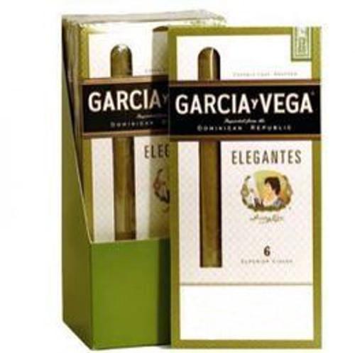 Garcia Y Vega Elegante Cigars (5 Packs Of 6) - Candela
