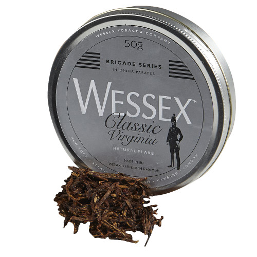 Wessex Brigade Classic Virginia Pipe Tobacco | 1.75 OZ TIN