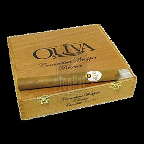 Oliva Connecticut Reserve Churchill Cigars - 7 x 50