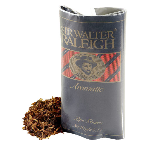 Sir Walter Raleigh Aromatic Pipe Tobacco | 1.5 OZ POUCH - 6 COUNT