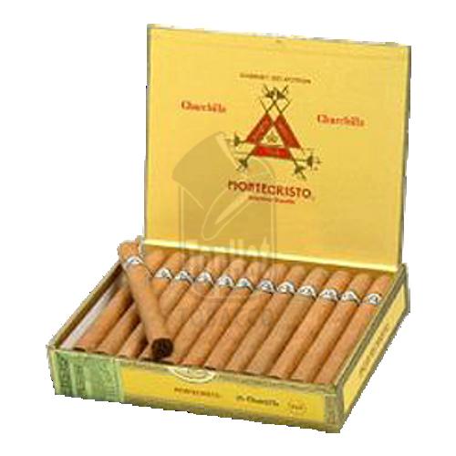 Montecristo Classic Churchill Natural Cigars - 7 x 54 (Box of 20)