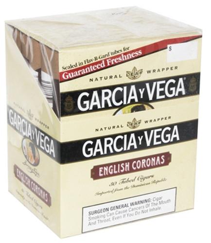 Garcia Y Vega English Corona Upright Cigars (Box of 30) - Natural