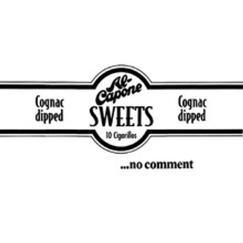 Al Capone Filter Sweets Cigars (10 Packs Of 10) - Natural