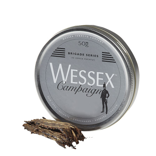 Wessex Brigade Campaign Pipe Tobacco | 1.75 OZ TIN