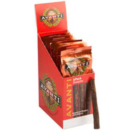 Avanti Anisette Cigars (10 Packs Of 3) - Natural