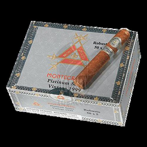 Montecristo Platinum Robusto Cigars - 5 x 50