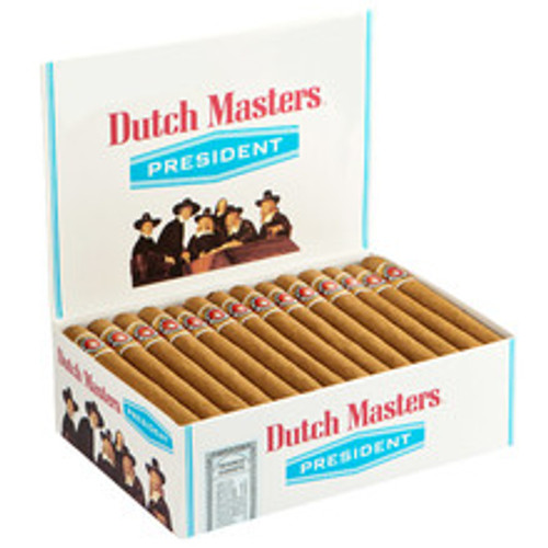Dutch Masters President Cigars (Box of 50) - Natural