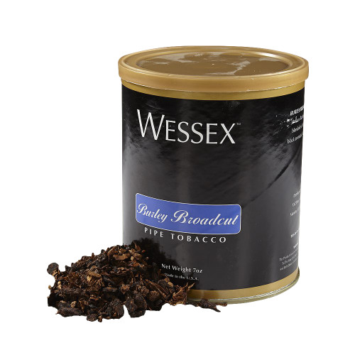 Wessex Burley Broad Cut Pipe Tobacco | 7 OZ TIN