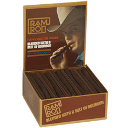 Ramrod Original Cigars (25 Packs Of 2) - Natural