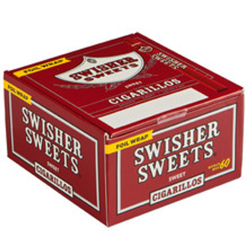 Swisher Sweets Cigarillo Sweets Cigars (Box of 60) - Natural
