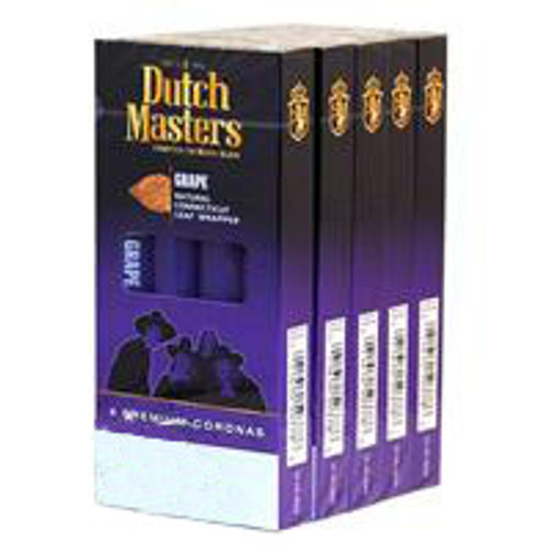 Dutch Masters Corona Grape Cigars (5 packs of 4) - Natural